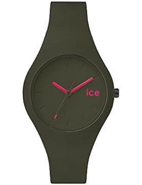 Ice-Watch Unisex - Armbanduhr Ice Forest Analog Quarz Silikon ICE.FT.OLV.S.S.14