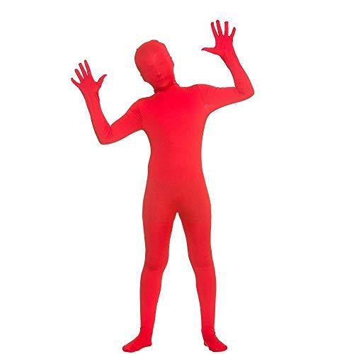 Kinder Unisex Red Skinz Kostüm (5-7 Jahre) (Skinz Kostüm)