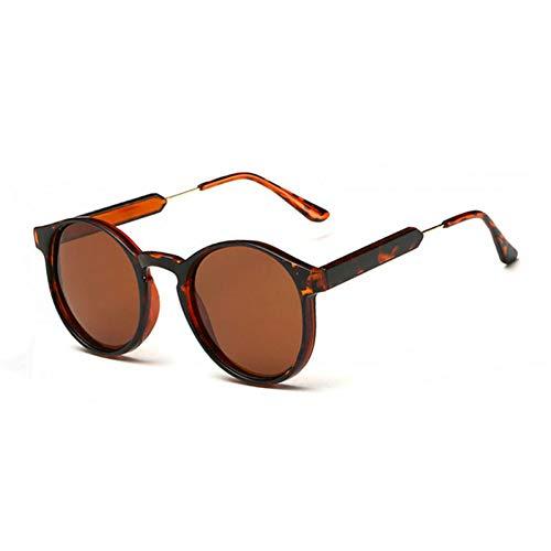 CCGSDJ Vintage Frauen Runde Sonnenbrille Männer Schlüsselloch Dicken Rahmen Sonnenbrille Weibliche Sonnenbrille