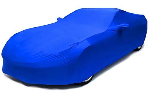 Unbekannt Brauch Autoabdeckung,Passend for BMW 635 CSi Coupe,Perfekte Passform,Schützen Sie das gesamte Fahrzeug Indoor Stretch Car-Cover (Color : Blue, Size : 1982-1989)