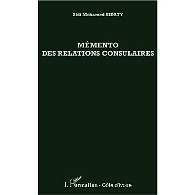Mémento des relations consulaires