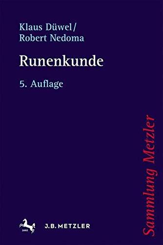 Runenkunde (Sammlung Metzler)