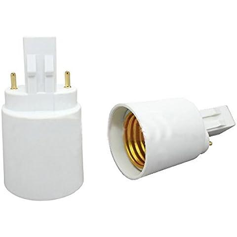 E-simpo ® 4GX23a E27adattatore, 2Pin gx23-e27lampada base convertitore, certificato CE, RoHS z1009