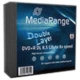 MediaRange MR465 Rohlinge und Speichermedien DVD+R Double Layer 8,5G, 240min 8x speed, Slimcase Pack 5