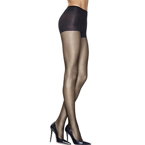 Hanes Silk Reflections - Lasting Sheer Control Top Pantyhose (3-Pack) Barely Black