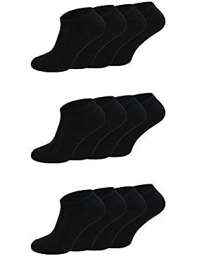 12 Paar Palleon Herren Sneaker Socken