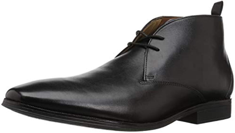 Clarks Men's Gilman Mid Fashion avvio, nero Leather, 110 M M M US | Tecnologia moderna  | Uomini/Donne Scarpa  6725f3