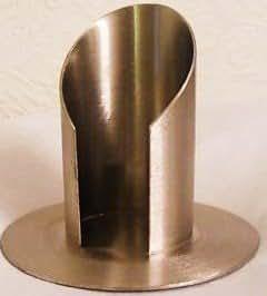 Kerzenst/änder Kerzenhalter f/ür Taufkerze Kommunionkerze T-86 50 mm Durchmesser