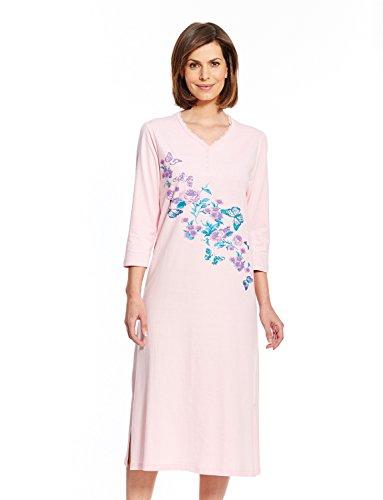 Chums Damen Schlafanzug farbe Rose