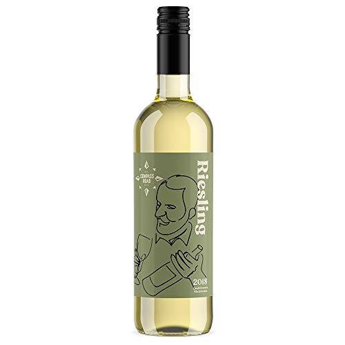 Marchio Amazon - Compass Road Riesling, Qualitätswein - 6 bottiglie da 75 cl