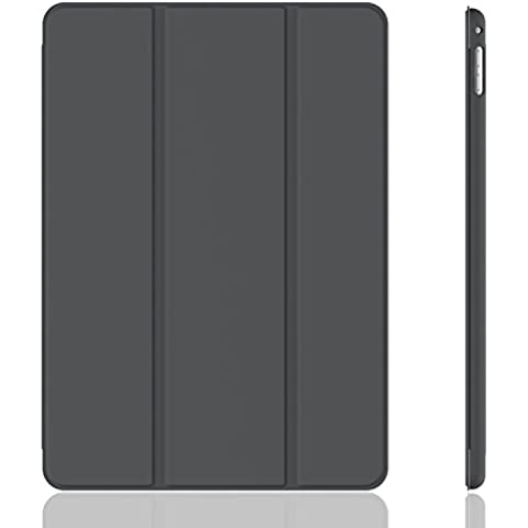 iPad Mini 4 Funda, JETech Slim Fit Apple iPad Mini 4 Funda Carcasa con Stand Función y Auto-Sueño/Estela para Apple iPad Mini 4 Lanzado en 2015 Smart Case Cover (Gris