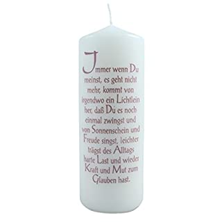 Spruch Kerzen
