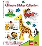 Lego Duplo Ultimate Sticker Collection [With More Than 600 Reusable Full-Color Stickers] [ LEGO DUPLO ULTIMATE STICKER COLLECTION [WITH MORE THAN 600 REUSABLE FULL-COLOR STICKERS] ] by Taylor, Vicki (Author) Apr-01-2009 [ Paperback ]
