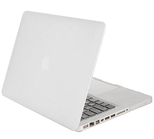 MOSISO MacBook Pro 13 Custodia Copertina (Non-Retina) - Plastica Custodia Rigida Caso Solo per Vecchio MacBook Pro 13 Pollici con CD-ROM (Modello: A1278, Versione anticipata 2012/2011/2010/2009/2008), Frost