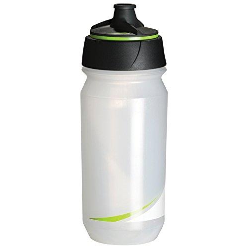 Tacx Shanti, Bottiglia di Bicicletta Unisex, Trasparente/Verde, Uni