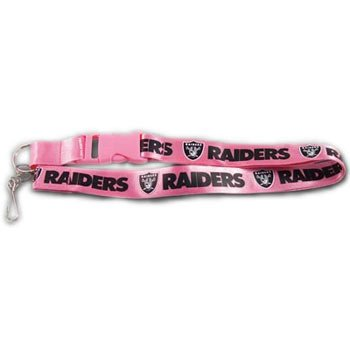 Oakland Raiders Nfl Ring (Pro Specialties Group NFL Oakland Raiders Lanyard, Pink)