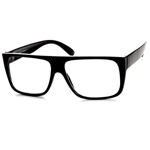 Kiss Brillen in neutralen stil JACOBS Flat Top - optischen rahmen VINTAGE mann frau SUPER COOL - SCHWARZ