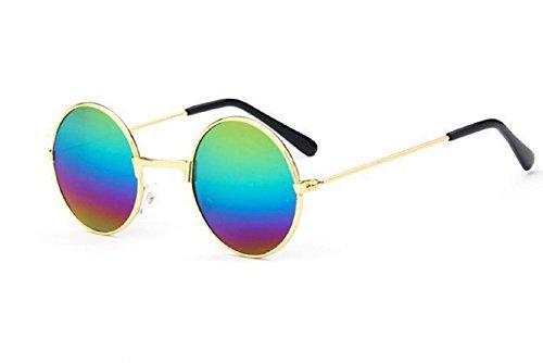 """(Multicolor) Gafas de sol redondo del hippie Modelo Jhon Lennon Hombres Mujeres unisex polarizadas UV400"""","""