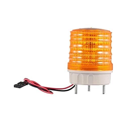 Wokee High Intensity Revolving Warning Light Warnlichtlampe Emergency für 1/14 Tamiya TRAXXAS HSP Redcat RC4WD AXAIL SCX10 RC Auto DIY (Orange) Revolving Warning Light