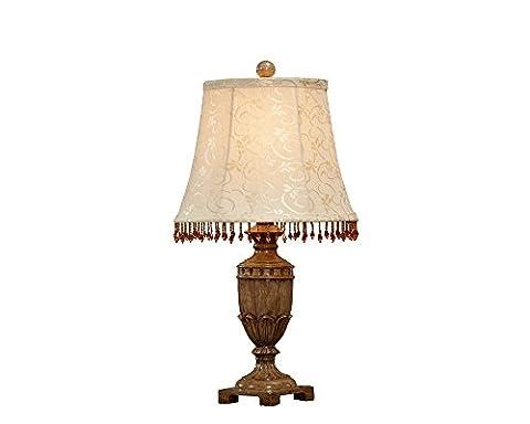 Ting- Europäischen Stil Retro klassischen klassischen Harz Skulptur personalisierte Schlafzimmer Studie Zimmer Wohnzimmer Nachttisch Lampe