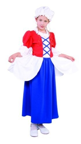 RG Costumes Betsy Ross Costume, Child Medium/Size 8-10 by RG Costumes