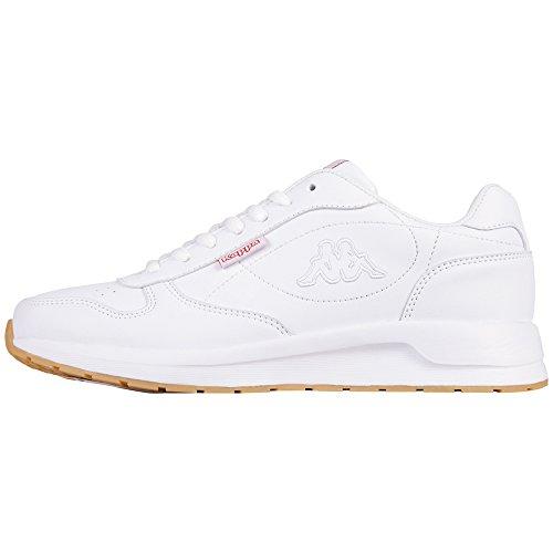 Kappa Unisex-Erwachsene Base II Sneaker, Weiß (White 1010), 40 EU