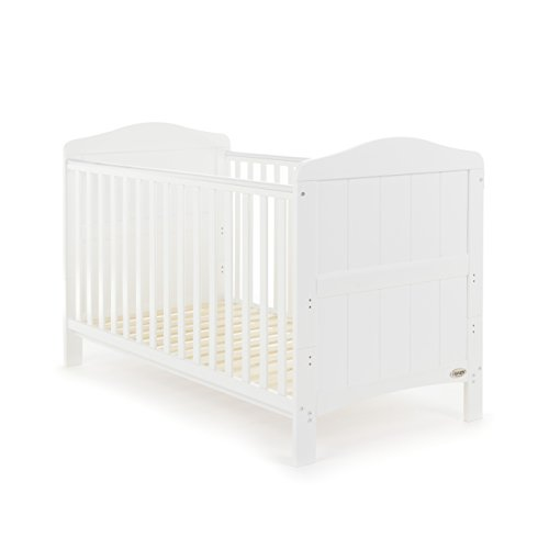Obaby Whitby Cot Bed, White