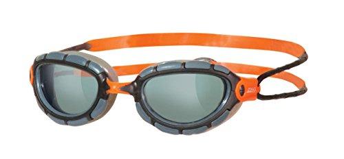 Zoggs Predator Gafas de natación, Hombre, Humo / Negro, Única