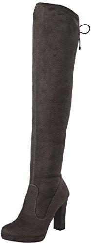 Braune Stiefel Frauen (Tamaris Damen 25560 Stiefel, Schwarz (Black), 39 EU)