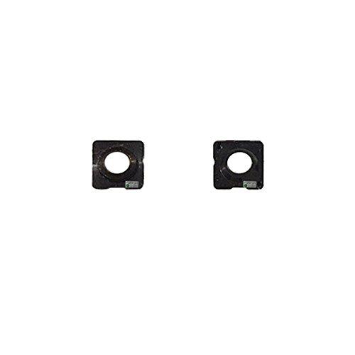 FONFON Kamera Glas Linse Abdeckung Camera Scheibe Glass Gehäuse Lens für iPhone 5S Schwarz (Linse Kamera Iphone 5s)