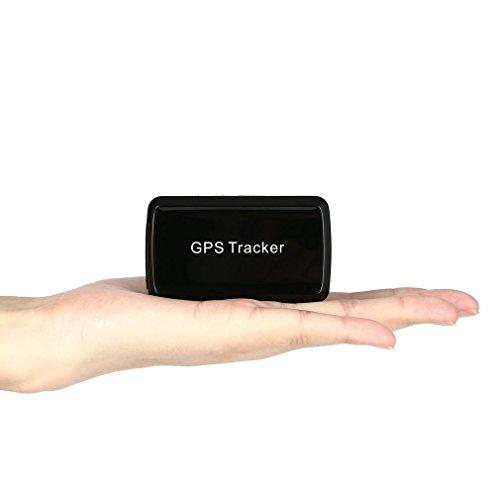 OCDAY GPS Tracker, Dispositivo di Localizzazione Mini GPS GSM LBS Sito Web GPRS SMS App Localizzatore in Tempo Reale Antifurto Magnetico Impermeabile per Autoveicoli Veicoli Anziani e Bambini