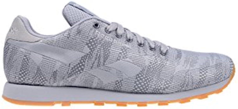 Reebok Classic Runner Jacquard Herren Sneaker Grau