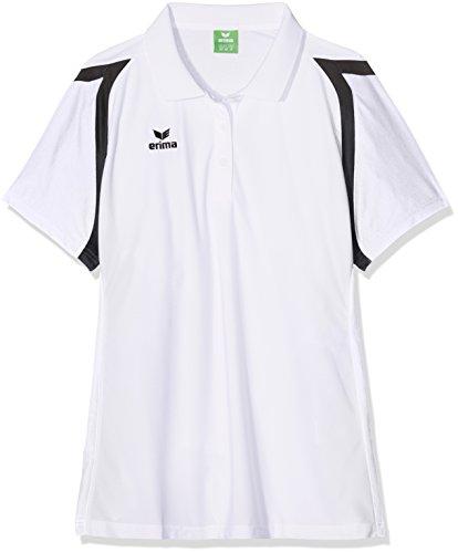erima Damen Poloshirt Razor 2.0 Weiß/Schwarz