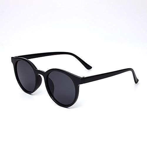 Acacia Bird Retro Sonnenbrillen Promi Stil Mode Retro Kleine Runde Sonnenbrille Frauen Männer Mode Vintage Marke Sonnenbrille Bunte Sonnenbrille UV400 (Farbe : KD9782 C1)