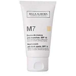 Bella Aurora M7 Crema de Manos Anti-Manchas, Anti-edad, Tratamiento Reparador Hidratante, Despigmentante, Protege y…