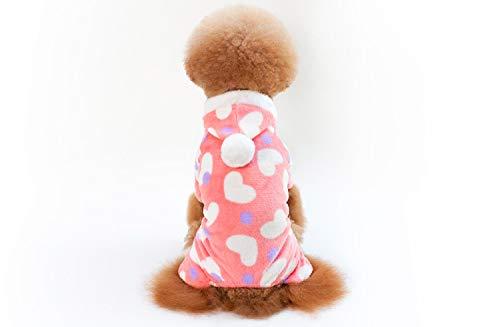 PZSSXDZW Heißer Pet Kleidung Hundebekleidung - rosa Herz Pink - Heiße Kostüm Für Jungs