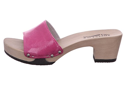 Softclox 3382, Mules Pour Femme rose bonbon