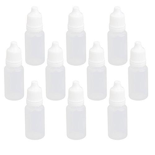10 Stk. 10ml Leeren Plastik Squeezable Tropfflaschen Für Augentropfen Labor Flüssigkeit