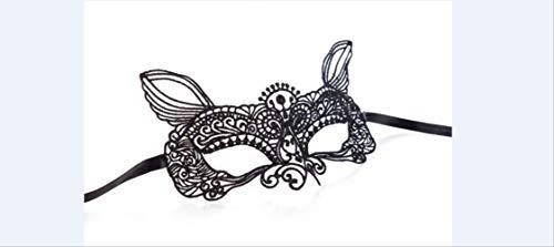 Wbdd Maske 1pcs Schwarz Frauen Sexy Spitze Augenmaske Party Masken Für Maskerade Halloween Venezianische Kostüme Karneval Maske 11 Genie
