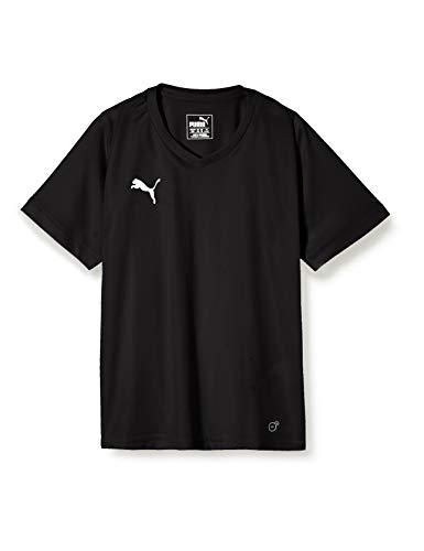 PUMA Kinder Liga Core Jersey, Black White, 152