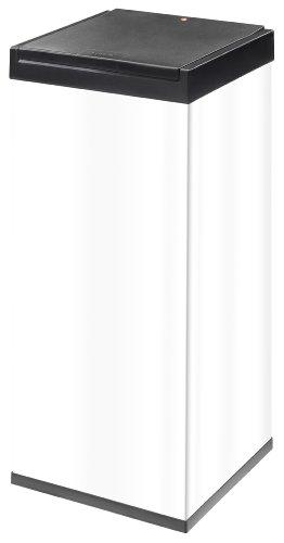 Hailo Big-Box Touch XXL, Mülleimer, 71 Liter, One-Touch-Deckelöffnung, Müllbeutel-Klemmrahmen,...