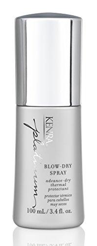 Kenra Platinum Blow-Dry Spray 3.4 oz by Kenra [Beauty] (English Manual)