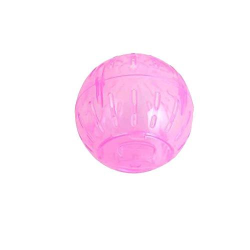 Yangge Pet Nager Mäuse Hamster Gerbil Ratte Jogging Spielen Gymnastikball Kunststoff-Spielzeug zufällige Farbe