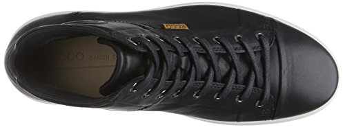 Ecco SOFT 7 MEN'S Herren Sneakers Schwarz (1001BLACK)