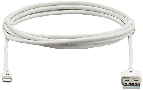 AmazonBasics Ladekabel Lightning auf USB, 1,8m, zertifiziert von Apple, Weiß - 7