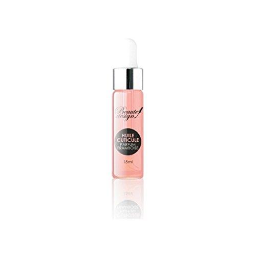 Beaute Design Shop - huile cuticule parfum framboise 15 ml