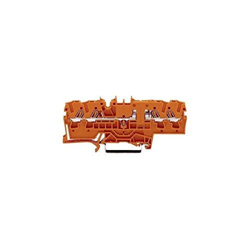 WAGO 2002-1802 Durchgangsklemme 5.20 mm Zugfeder Orange 1 St.