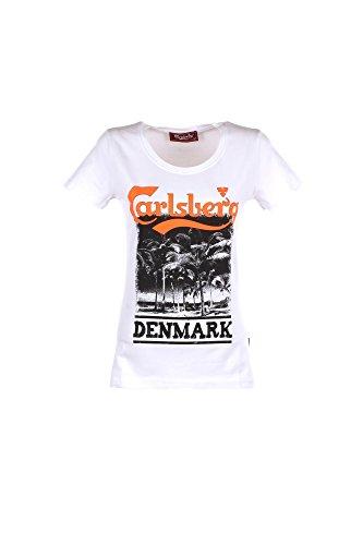 Carlsberg CBD2694 T Shirt Donna White (M)