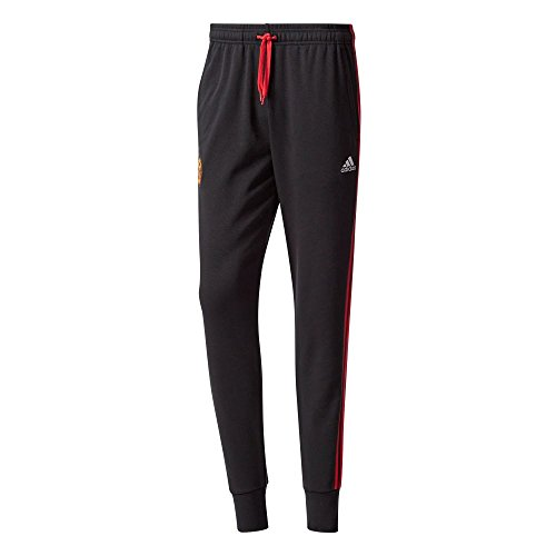adidas Mufc 3S PNT Pantalón Manchester United FC, Hombre, Negro...