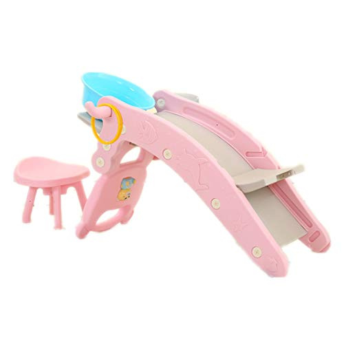 qwdf Baby, Baby Kleines hölzernes Pferdespielzeug Multifunktionales Shampoobett für Kinder Schaukelpferd schieben Kunststoff Music Trojan 2 in 1